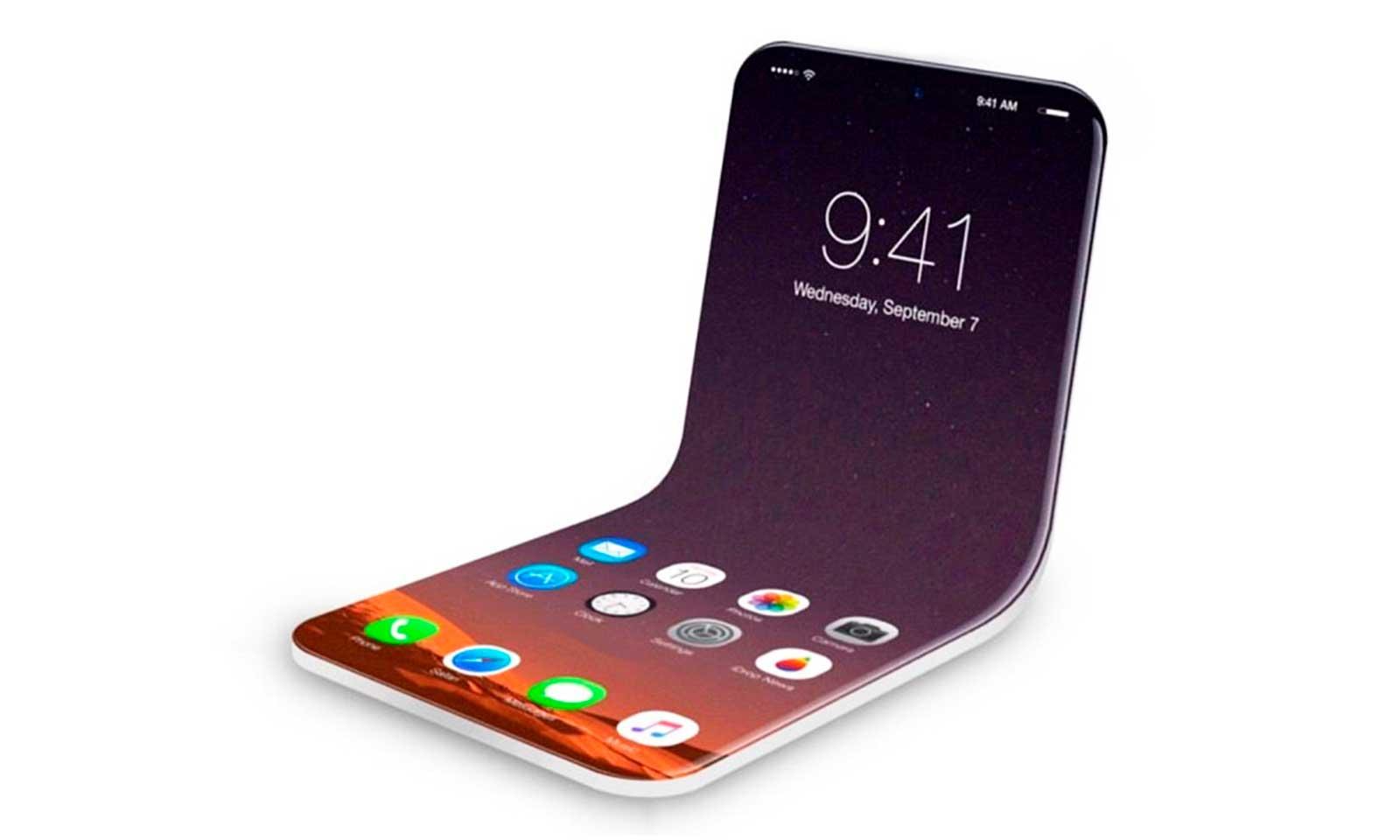 Le modèle de téléphone pliable Apple